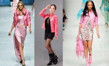 Что носить с розовой курткой: подбираем гардероб
