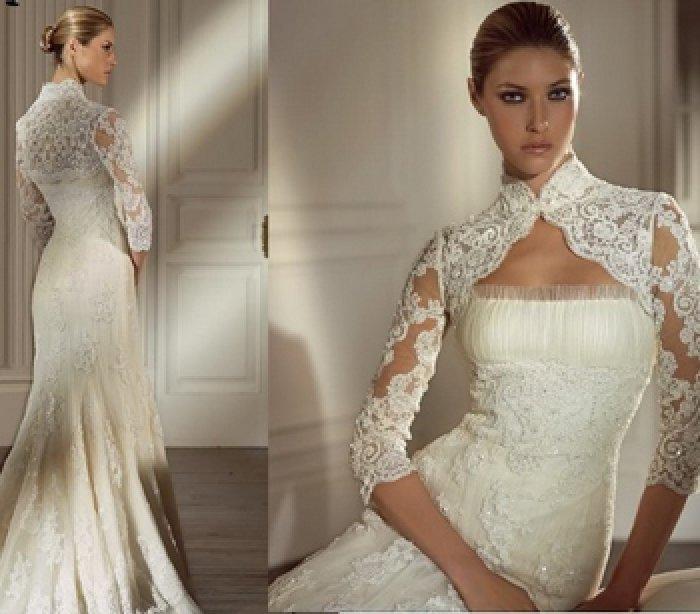 Свадебное Платье Кружевной Лиф 47