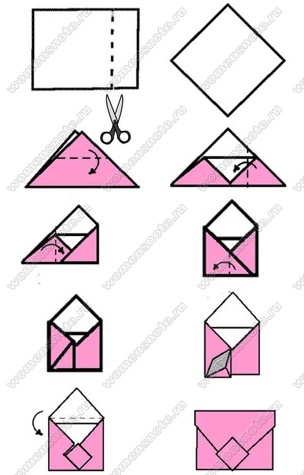 Как сделать большой конверт своими руками 16