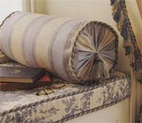 Диванная подушка валик своими руками