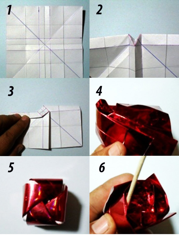 Как сделать букет из конфет 770