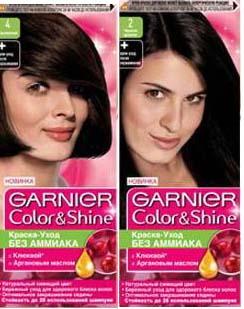 Палитра краски для волос Garnier Color Shine