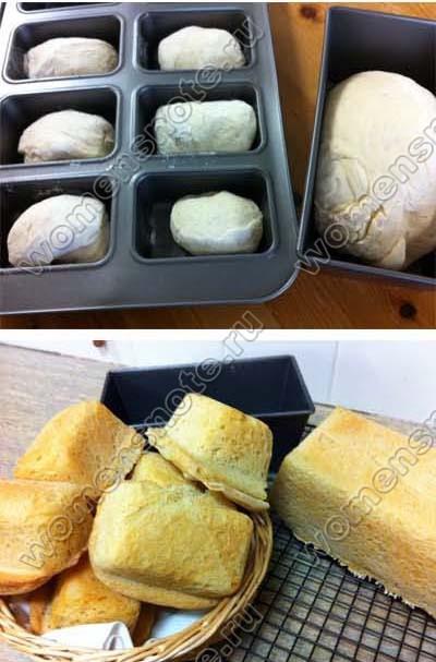 Белый хлеб в мультиварке и духовке рецепт с фото пошагово ...