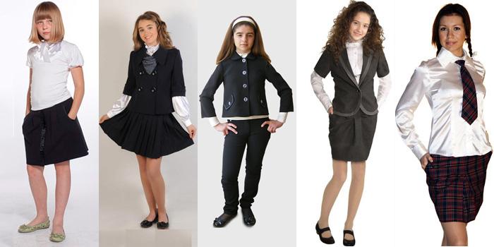 Что модно одевать в школу