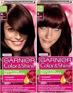 Палитра красок для волос Garnier Color Shine