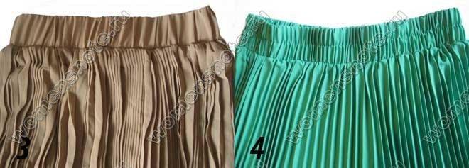 Как рассчитать ткань для плиссе на юбку