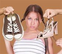 Туфли для подростков на шпильках