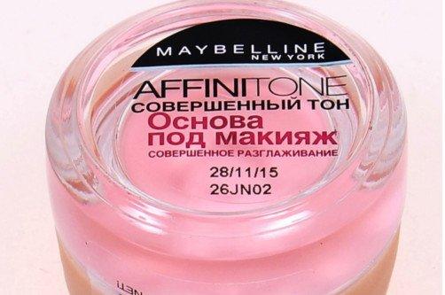 Как правильно нанести основу под макияж мейбелин