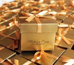 Что могут подарить молодожены гостям на свадьбе