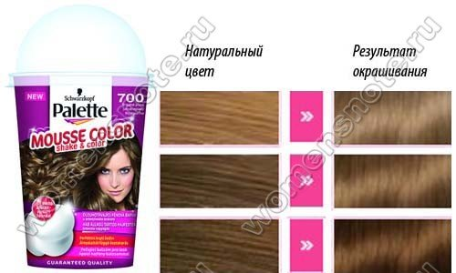 Палитра Palette Mousse Color