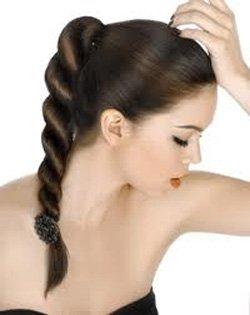 Как плести косу на бок