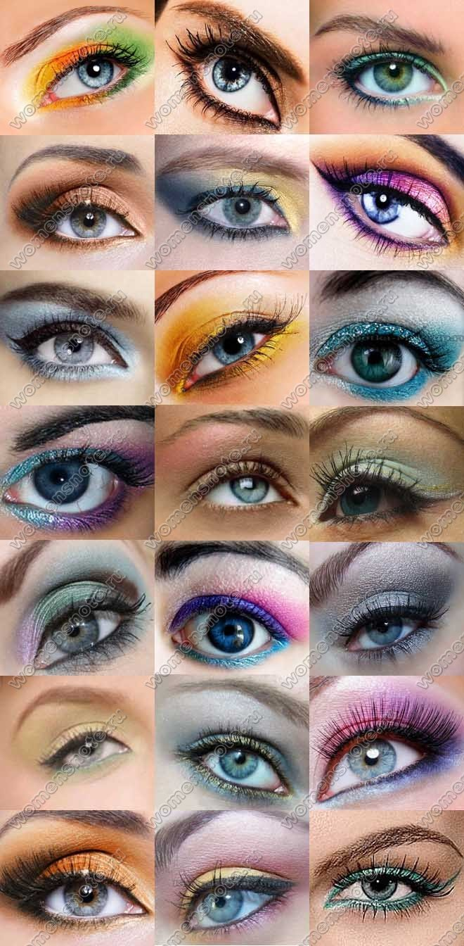Какой макияж подойдет под серые глаза