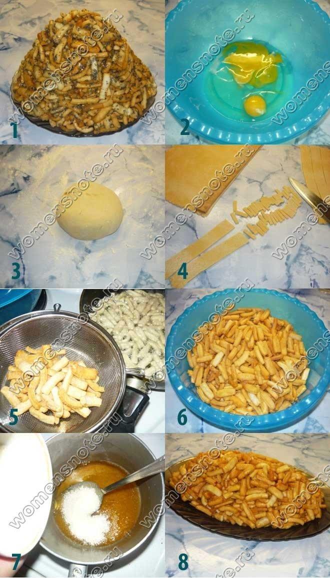Как приготовить чак-чак рецепт
